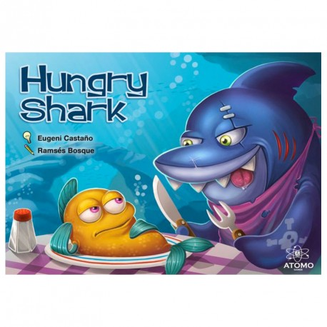Hungry Shark - juego de cálculo rápido para 2-8 jugadores