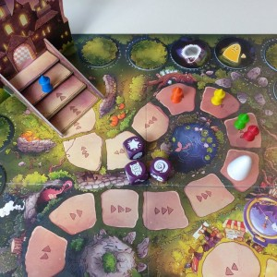 Wizardry: Escuela de Magos - Juego cooperativo de memoria para 2-6 jugadores