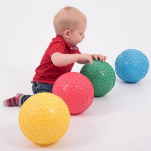 Set 4 pelotas hinchables