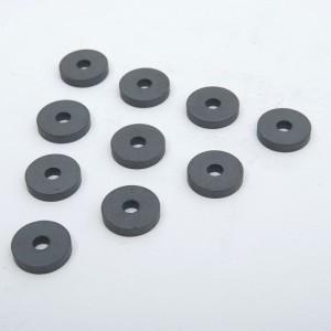 10 imanes en forma de anilla 24mm