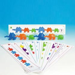 20 tarjetas con actividades para Camellos para conectar y contar