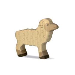 Cordero - Animal de granja de madera