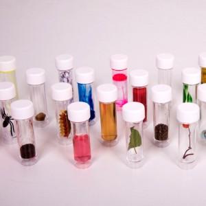 Botes de muestras - 30 unidades para el aula