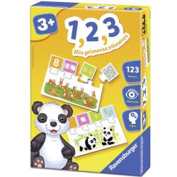 1, 2, 3 Mis primeros números - Juego puzzle para 1-4 jugadores