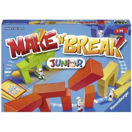 Make'n'Break Junior - juego de mesa de construcción de madera para 2-5 jugadores