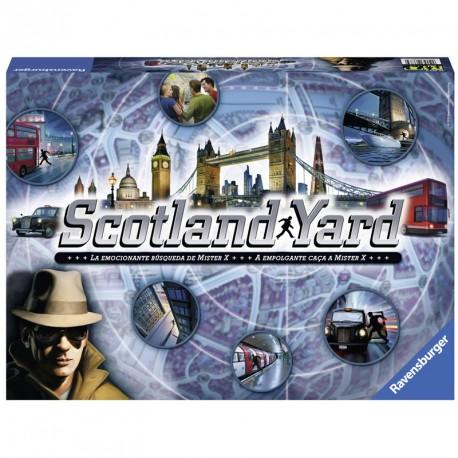 Scotland Yard - intuitivo juego de estrategia para 2-6 jugadores