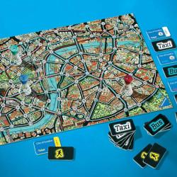Scotland Yard Travel - intuitivo juego de estrategia y  para 2-4 jugadores