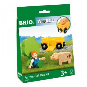 Kit Chica Granjera - Accesorio Brio World