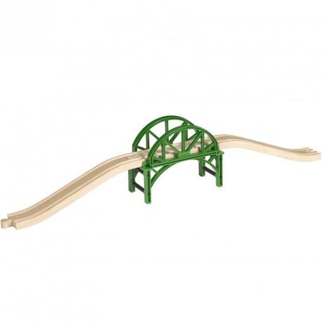 Puente apilable para Circuito de tren de madera