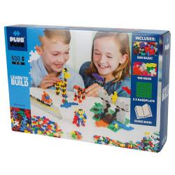 Plus-Plus Mini  Set Aprende a Construir 600 piezas  - juguete de construcción