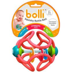 Bolli - bola suave y sensorial color rosa
