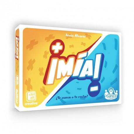 ¡Mia! - veloz juego de cálculo mental para 1-6 jugadores