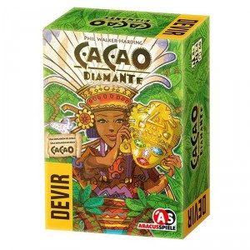 Cacao Diamante - expansión para el juego de estrategia para 2-4 jugadores