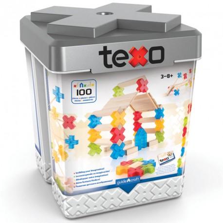 Texo 100 peces - Joc de construcció arquitectònica