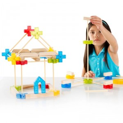 Texo 100 piezas - Juego de construcción arquitectónica