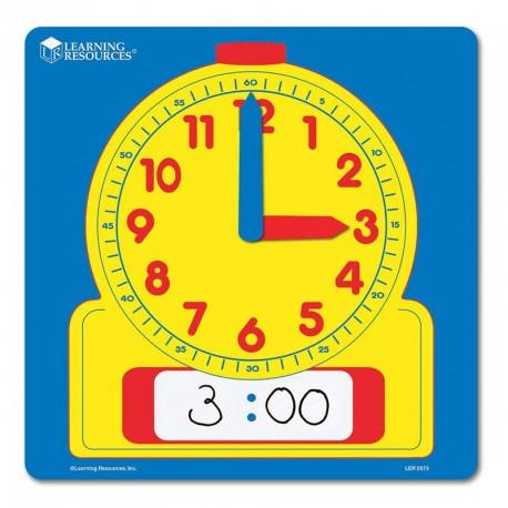 Rellotge demostració analògic-digital per al professor