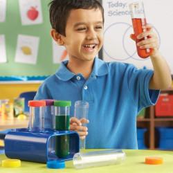 6 tubos de ensayo Jumbo para experimentos en el aula