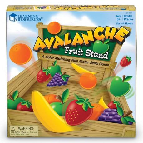 Avalancha en la fruteria - juego de motricidad fina para 1-4 jugadores