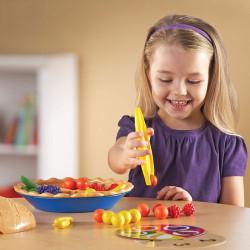 Pastel de Frutas - juego de motricidad fina y clasificación