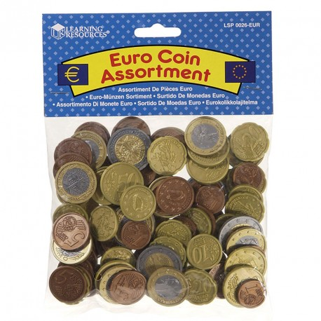 Set de monedes d'Euro - diners de joguina