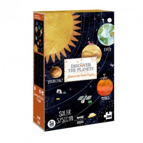 Puzle Descobreix Els Planetes - 200 pces.