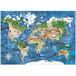 Puzzle Descubre El Mundo - 200 pzas.