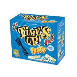 Time's Up Party Azul - juego de adivinar personajes para 4-12 jugadores