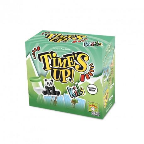 Time's Up Kids Panda - juego cooperativo de adivinar personajes para 2-12 jugadores