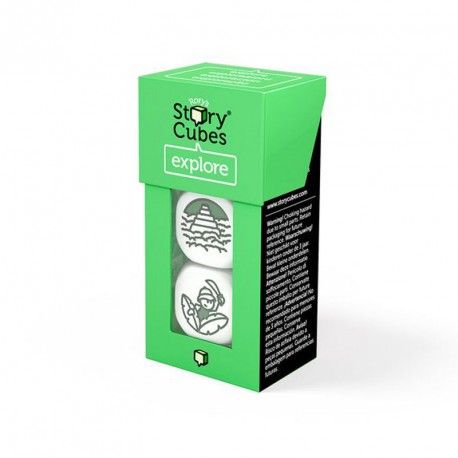 Rory's Story Cubes Exploració - extensió de 3 daus per crear històries