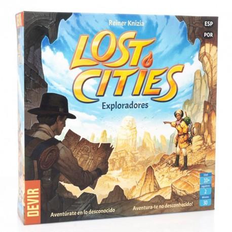Lost Cities: Exploradores - Juego de estrategia para 2 jugadores