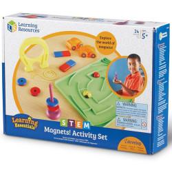 Set actividades con imanes - juego educativo
