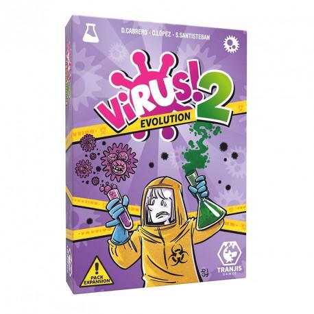 Virus! 2 Evolution - Aún más contagioso juego de cartas - ampliación