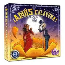 Adiós Calavera - juego estratégico para 2 jugones mejicanos