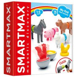 SmartMax Mis primeros Animales de Granja - juego de construcción magnético 16 pzas.