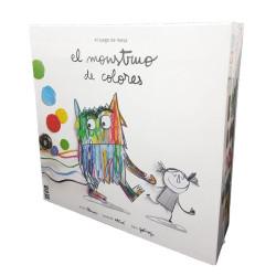 El Monstruo de Colores - Juego cooperativo versión en español