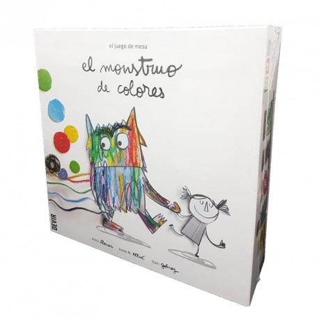 El Monstre de Colors - Joc cooperatiu versió en espanyol