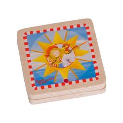 Reloj solar de bolsillo - Aprende a leer la hora según el sol