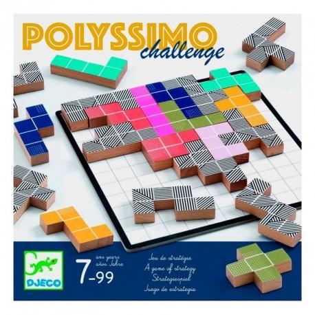 Polyssimo Challenge - joc d'estratègia per 2-4 jugadors