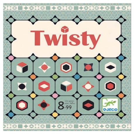 Twisty - juego de estrategia familiar para 2-4 jugadores