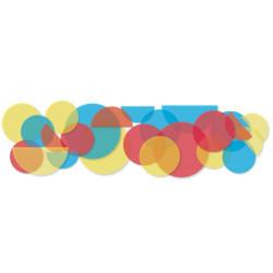 Collage Círculos Mágicos - pegatinas quita y pon