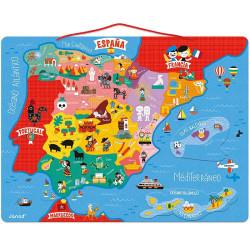 Puzzle mapa de España Magnético