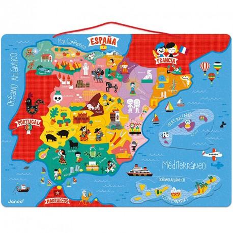 Puzle mapa d'Espanya Magnètic
