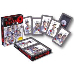 Los 7 Villanos - juego de cartas de atención y concentración para 2-6 jugadores - nuevo formato compacto