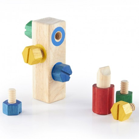 Screw Block, enroscar tornillos de madera