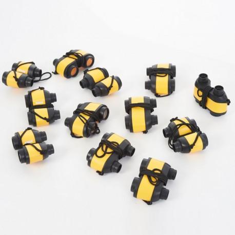 Prismàtics 3x28mm - pack de 12 per a l'aula