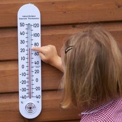 Termómetro interior/exterior grande ºC y ºF