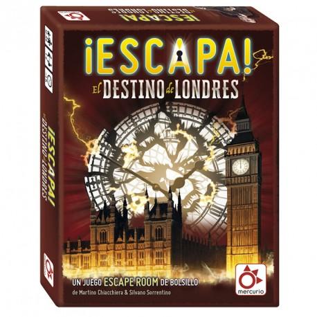 ¡Escapa! El destino es Londres - Juego de escape room para 1-6 jugadores