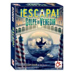 ¡Escapa! Golpe en Venecia - Juego de escape room para 1-6 jugadores
