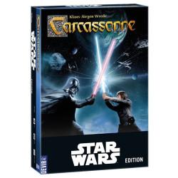 Carcassonne Edición StarWars - Juego de estrategia para 2-5 jugadores