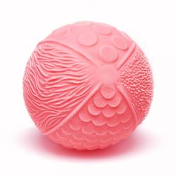 Pelota sensitiva de caucho 100% natural - Luna Rosa